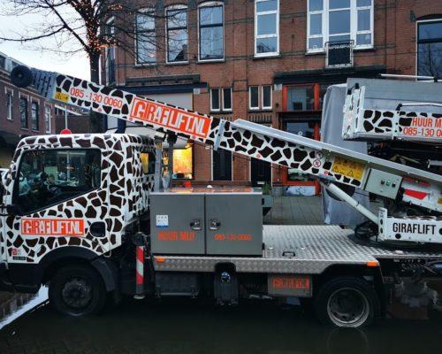 Verhuislift huren Den Haag