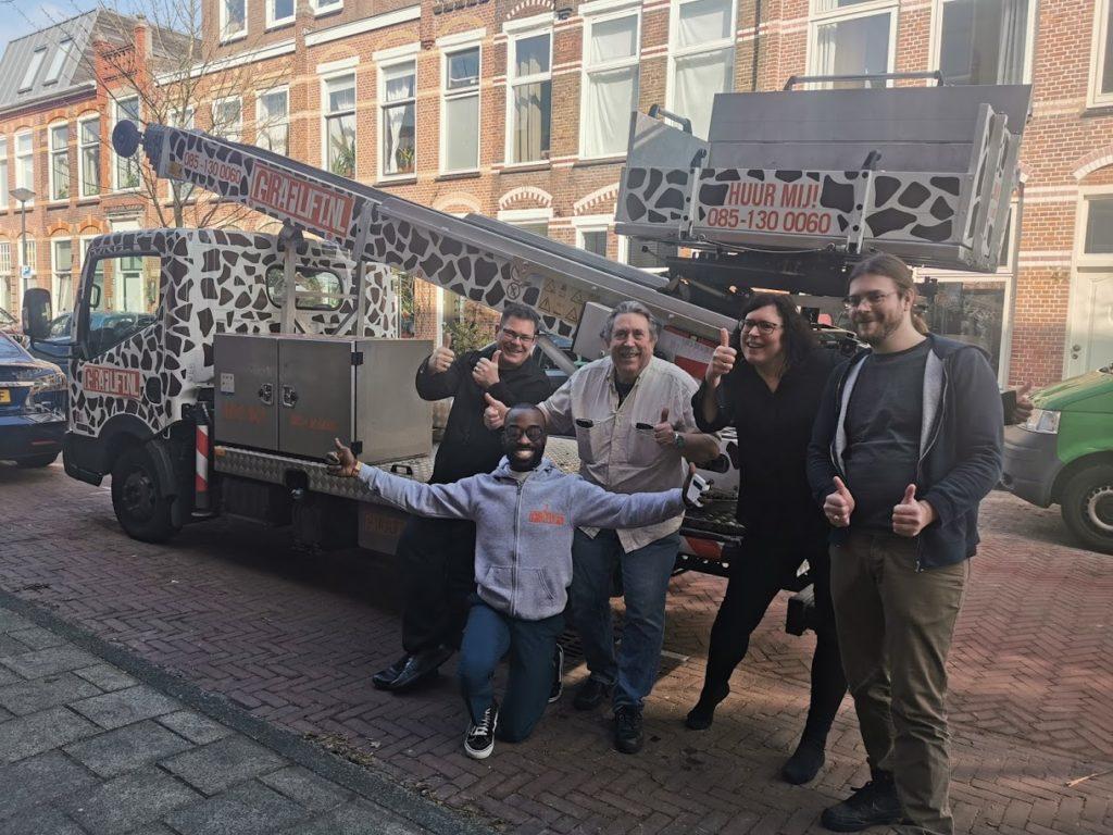 Verhuislift huren Zoetermeer